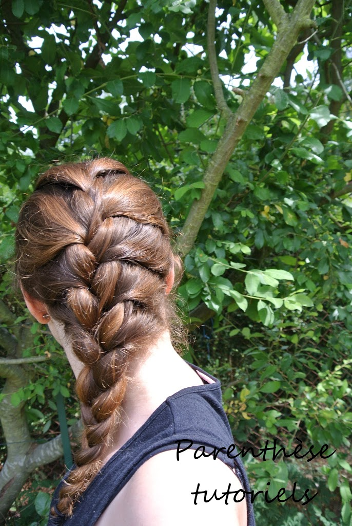 Tresse collée, french braid ou tresse africaine