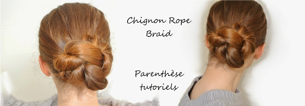 Chignon Rope Braid
